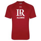 Under Armour Cardinal Tech Tee-Alumni