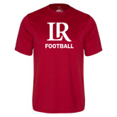 Performance Cardinal Tee-Football