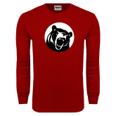 Cardinal Long Sleeve T Shirt-LR Bear