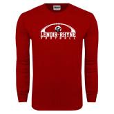 Cardinal Long Sleeve T Shirt-Football Top