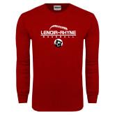 Cardinal Long Sleeve T Shirt-Baseball Thread