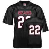 Replica Black Adult Football Jersey-#22