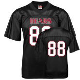 Replica Black Adult Football Jersey-#88