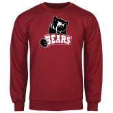 Cardinal Fleece Crew-Bears