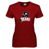 Ladies Cardinal T Shirt-Bears