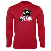 Performance Cardinal Longsleeve Shirt-Bears