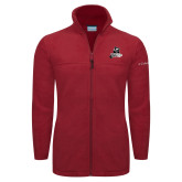 Columbia Full Zip Cardinal Fleece Jacket-LR Bear