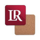 Hardboard Coaster w/Cork Backing-Primary Mark