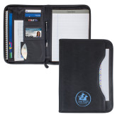 Wall Street Black Zippered Padfolio-Primary Mark