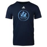 Adidas Navy Logo T Shirt-Primary Mark