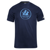 Russell Core Performance Navy Tee-Primary Mark