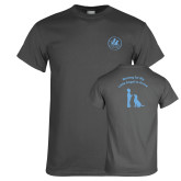 Charcoal T Shirt-Primary Mark