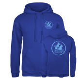 Russell DriPower Royal Fleece Hoodie-Primary Mark