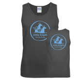 Charcoal Tank Top-Primary Mark