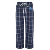 Navy/White Flannel Pajama Pant-Primary Mark