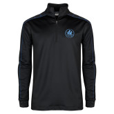 Nike Golf Dri Fit 1/2 Zip Black/Royal Pullover-Primary Mark