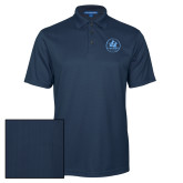 Navy Performance Fine Jacquard Polo-Primary Mark