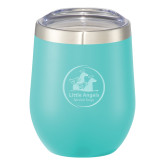 Corzo Vacuum Insulated Mint Cup 12oz-Primary Mark  Engraved