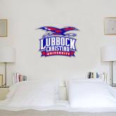 2 ft x 3 ft Fan WallSkinz-Lubbock Christian University - Offical Logo
