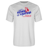 Performance White Tee-2019 NCAA DII National Champions