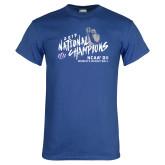 Royal T Shirt-2019 NCAA DII National Champions
