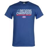 Royal T Shirt-2019 Womens Basketball NCAA DII National Champions