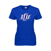 Ladies Royal T Shirt-Interlocking LCU