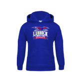 Youth Royal Fleece Hoodie-Lubbock Christian University - Offical Logo