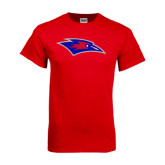 Red T Shirt-Chaparral Distressed