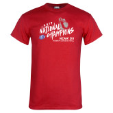 Red T Shirt-2019 NCAA DII National Champions