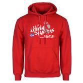 Red Fleece Hoodie-2019 NCAA DII National Champions