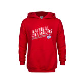 Youth Red Fleece Hoodie-2019 Womens Basketball National Champions
