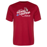 Performance Red Tee-2019 NCAA DII National Champions