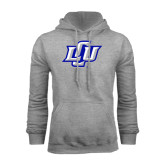 Grey Fleece Hoodie-Interlocking LCU