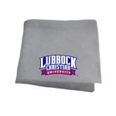 Grey Sweatshirt Blanket-Lubbock Christian University