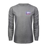 Grey Long Sleeve T Shirt-Lubbock Christian University