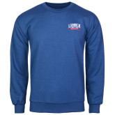 Royal Fleece Crew-Lubbock Christian University