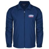Full Zip Royal Wind Jacket-Lubbock Christian University