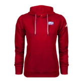 Adidas Climawarm Red Team Issue Hoodie-Lubbock Christian University