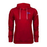 Adidas Climawarm Red Team Issue Hoodie-Chaparral