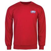 Red Fleece Crew-Lubbock Christian University