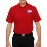 Under Armour Red Performance Polo-Lubbock Christian University