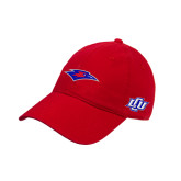 Red Twill Unstructured Low Profile Hat-Chaparral