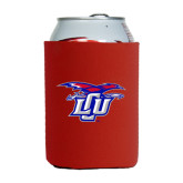 Neoprene Red Can Holder-Interlocking LCU w/ Chaparral