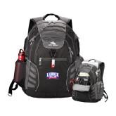 High Sierra Big Wig Black Compu Backpack-Lubbock Christian University