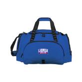 Challenger Team Royal Sport Bag-Lubbock Christian University