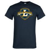 Navy T Shirt-L Warriors
