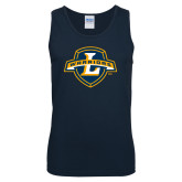 Navy Tank Top-L Warriors