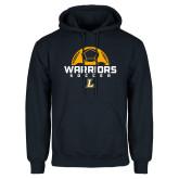 Navy Fleece Hoodie-Warriors Soccer