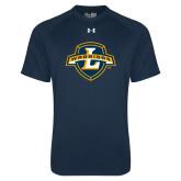 Under Armour Navy Tech Tee-L Warriors